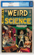 Golden Age (1938-1955):Science Fiction, Weird Science #15 (#4) Gaines File pedigree 4/9 (EC, 1950) CGCVF/NM 9.0 Cream to off-white pages....