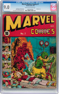 Golden Age (1938-1955):Superhero, Marvel Mystery Comics #7 (Timely, 1940) CGC VF/NM 9.0 Cream to off-white pages....