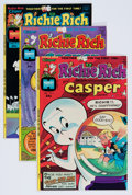 Bronze Age (1970-1979):Cartoon Character, Richie Rich and Casper File Copies Group (Harvey, 1974-82)Condition: Average NM-.... (Total: 127 Comic Books)