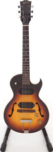 Musical Instruments:Electric Guitars, Circa 1951 Gibson ES-140TD 3/4 Sunburst Semi-Hollow Body Electric Guitar. ...