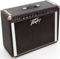Musical Instruments:Amplifiers, PA, & Effects, 1980s Peavey Classic VT Serial Black Guitar Amplifier, Serial #OA9424....