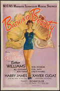 """Movie Posters:Musical, Bathing Beauty (MGM, 1944). One Sheet (27"""" X 41"""") Style C. Musical.. ..."""