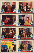 "Movie Posters:Crime, Below the Deadline (Chesterfield, 1936). Lobby Card Set of 8 (11"" X 14""). Crime.. ... (Total: 8 Items)"