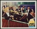 """Movie Posters:Comedy, A Night at the Opera (MGM, R-1948). Lobby Card (11"""" X 14""""). Comedy.. ..."""