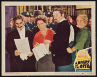 "A Night at the Opera (MGM, R-1948). Lobby Card (11"" X 14""). Comedy"