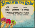 "Movie Posters:Musical, Singin' in the Rain (MGM, 1952). Deluxe Title Lobby Card (11"" X 14""). Musical.. ..."