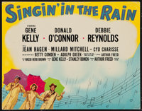 "Singin' in the Rain (MGM, 1952). Deluxe Title Lobby Card (11"" X 14""). Musical"
