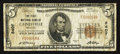National Bank Notes:Missouri, Cainesville, MO - $5 1929 Ty. 1 The First NB Ch. # 8407. ...
