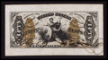 Fractional Currency:Third Issue, Fr. 1355SP 50¢ Third Issue Wide Margin Justice Face Choice About New.. ...