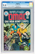 Bronze Age (1970-1979):Superhero, Omac #6 Twin Cities pedigree (DC, 1975) CGC NM 9.4 Off-white towhite pages....