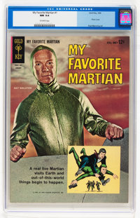 My Favorite Martian #1 (Gold Key, 1964) CGC NM 9.4 Off-white pages