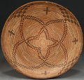 American Indian Art:Baskets, A WESTERN APACHE POLYCHROME COILED BOWL. c. 1900...