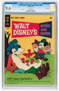 Silver Age (1956-1969):Cartoon Character, Walt Disney's Comics and Stories #305 Twin Cities pedigree (Gold Key, 1966) CGC NM+ 9.6 White pages....