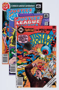 Modern Age (1980-Present):Superhero, Justice League of America and Justice Society of America Short BoxGroup (DC, 1970s-80s) Condition: Average NM-....
