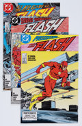 Modern Age (1980-Present):Superhero, The Flash Short Box Group (DC, 1970s-80s) Condition: Average NM....