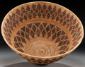 American Indian Art:Baskets, A YOKUTS POLYCHROME BOWL. c. 1900...