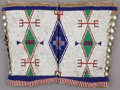 American Indian Art:Beadwork and Quillwork, A PAIR OF SIOUX WOMAN'S BEADED HIDE LEGGINGS . c. 1890 ...