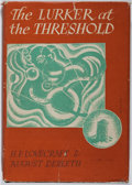 Books:Science Fiction & Fantasy, H. P. Lovecraft and August Derleth. INSCRIBED. The Lurker at the Threshold. Arkham House, 1945. First edition. I...