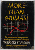 Books:Science Fiction & Fantasy, Theodore Sturgeon. More Than Human. Farrar, Straus and Young, 1953. First printing. Original publisher's binding...