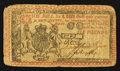 Colonial Notes:New Jersey, New Jersey April 12, 1760 £6 Fine.. ...