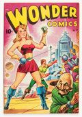 Golden Age (1938-1955):Superhero, Wonder Comics #17 (Better Publications, 1948) Condition: VG/FN....
