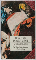 Books:Science Fiction & Fantasy, A. N. Roquelaure [Anne Rice]. Beauty's Punishment. E. P. Dutton, Inc., 1984. First edition. With a signed Anne R...