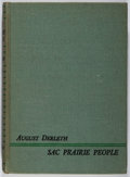 Books:Americana & American History, August Derleth. SIGNED. Sac Prairie People. Stanton &Lee Publishers, 1948. First edition of 2000 copies printed...