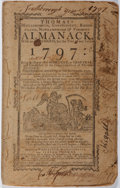 Books:Americana & American History, [Isaiah Thomas]. Thomas's Massachusetts, Connecticut, RhodeIsland, New Hampshire and Vermont Almanack 1797. Pri...