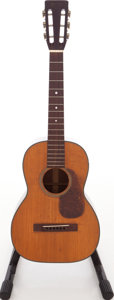 Musical Instruments:Electric Guitars, 1946 Martin 5-18 Natural Acoustic Guitar Serial # 98073....