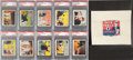 "Non-Sport Cards:Sets, 1930's R41 Walter Johnson Candy Co. ""Dick Tracy"" Complete Set (144)Plus Wrapper. ..."