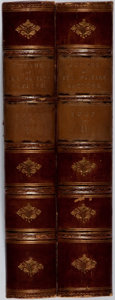 Books:Americana & American History, Viscount Bury. Exodus of the Western Nations. Bentley, 1865. First edition. Two octavo volumes. Contemporary hal... (Total: 2 Items)