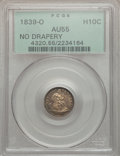 Seated Half Dimes: , 1839-O H10C No Drapery AU55 PCGS. PCGS Population (8/33). NGCCensus: (8/44). Mintage: 1,000,000. Numismedia Wsl. Price for...