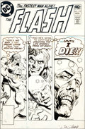 Original Comic Art:Covers, Dick Giordano The Flash #279 Cover Original Art (DC,1979)....