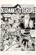 "Original Comic Art:Complete Story, Tom Sutton Vampirella #14 Complete 9-Page Story ""Deadman'sTreasure"" Original Art (Warren, 1971)...."
