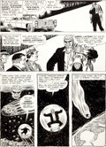 Original Comic Art:Panel Pages, Murphy Anderson Showcase #55 Solomon Grundy and GreenLantern Page 18 Original Art (DC, 1965)....