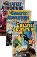 Silver Age (1956-1969):Adventure, My Greatest Adventure Group (DC, 1958-61) Condition: Average VG.... (Total: 13 Comic Books)
