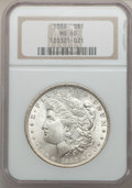 Morgan Dollars: , 1888 $1 MS65 NGC. NGC Census: (5579/1032). PCGS Population(3220/624). Mintage: 19,183,832. Numismedia Wsl. Price for probl...
