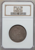 Seated Half Dollars: , 1840-O 50C XF45 NGC. NGC Census: (8/49). PCGS Population (18/50).Mintage: 855,100. Numismedia Wsl. Price for problem free ...