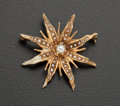 Estate Jewelry:Brooches - Pins, Early Gold & Pearl Pin. ...