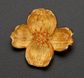 "Estate Jewelry:Brooches - Pins, Tiffany & Co. ""Dogwood"" 18k Brooch. ..."