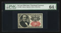 Fractional Currency:Fifth Issue, Fr. 1309 25¢ Fifth Issue PMG Choice Uncirculated 64 EPQ.. ...