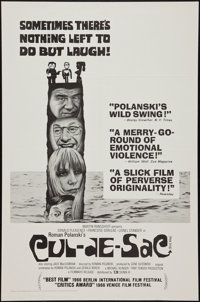 "Cul-de-sac (Sigma III, 1967). One Sheet (27"" X 41""). Thriller"