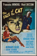 "Movie Posters:War, The Face of the Cat (MGM, 1959). One Sheet (27"" X 41""). War.. ..."