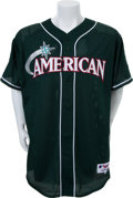 Autographs:Jerseys, 2001 Roger Clemens All-Star Weekend Jersey Inscribed & Signedto Brian McNamee....