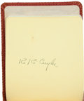Autographs:Others, 1930's Baseball Autograph Album Signed by 45+....