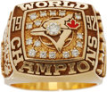 Baseball Collectibles:Others, 1992 Toronto Blue Jays World Championship Ring....