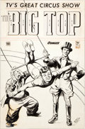 Original Comic Art:Covers, Edd Ashe Big Top Comics #1 Cover Original Art (Toby,1951)....