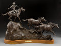 Sculpture, GRANT SPEED (American, 1930-2011). Stolen Horses, 1982. Bronze with patina. 23 inches (58.4 cm). Ed. 13/30. Signed and d...