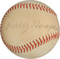Autographs:Baseballs, Circa 1950 Harry Hooper Single Signed Baseball, PSA/DNA EX+ 5.5....