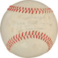 Autographs:Baseballs, 1940's Pie Traynor Single Signed Baseball....